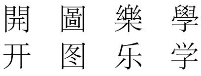 סימניות סיניות מודרניות