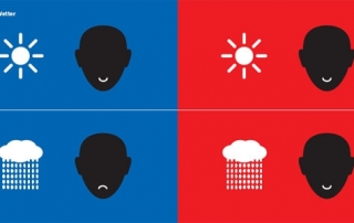 שמש וגשם במזרח ובמערב