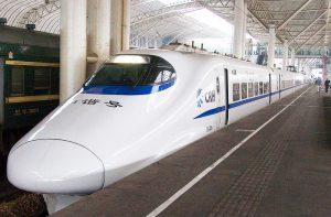 רכבת מהירה בסין